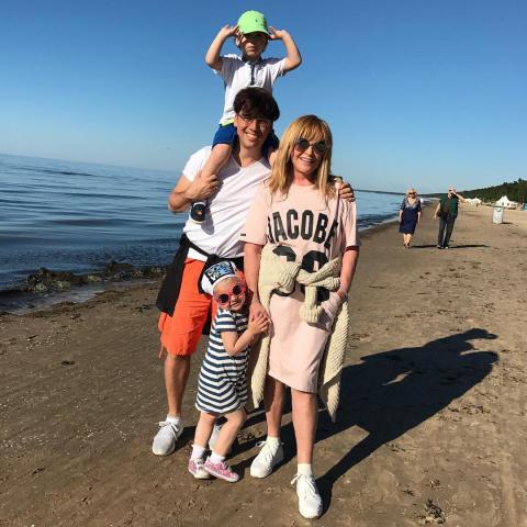 Фото Галкина с семьей установило рекорд в его Инстаграме