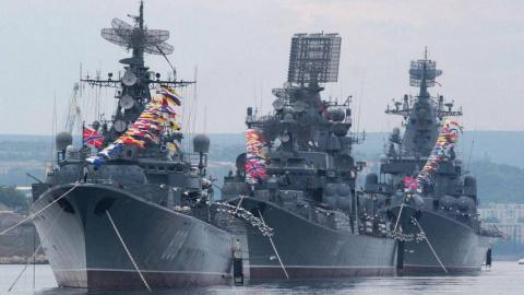 День ВМФ в Севастополе. Константин Кеворкян