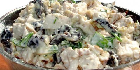 Самые вкусные салаты с куриц…