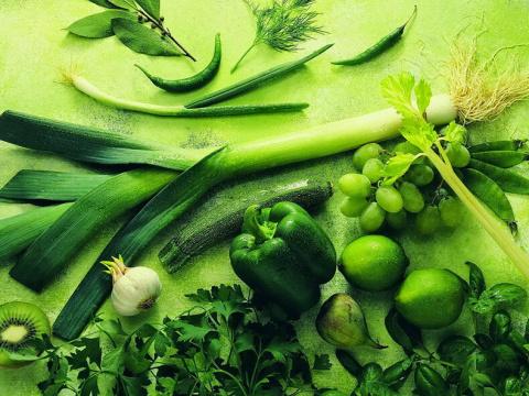 Зеленая еда - невероятная польза для вашего здоровья
