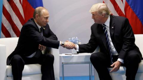 В Гамбурге проходит первая встреча Путина и Трампа