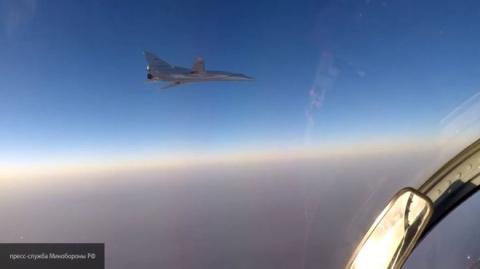 Бомбардировщики ВКС РФ ТУ-22М3 ударили по боевикам в Дейр эз-Зоре