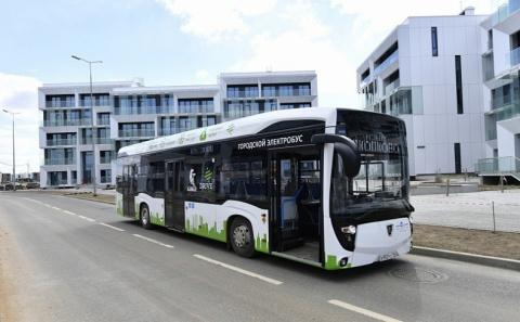 Камазовский электробус заряжается от розетки за 6 минут