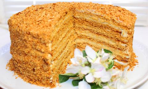 Торт Медовик. Самый вкусный …