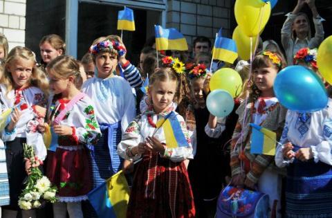 Очередной скандал на Украине вызвала поездка школьников в Россию