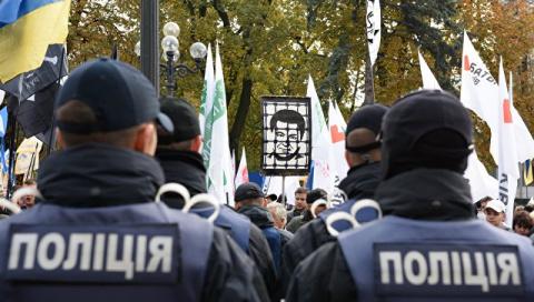 В Киеве полиция применила сл…