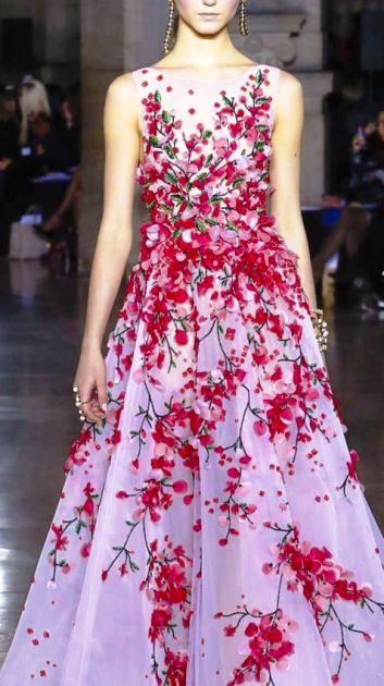 Georges Hobeika весна-лето 2017 — роскошные наряды с восточной ноткой
