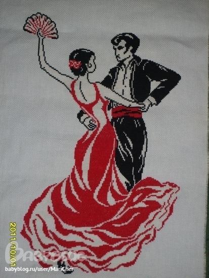 Вышивка Испания