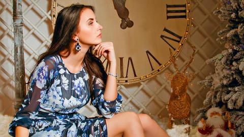 Ольга Анохина: «Старинные часы»