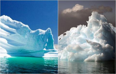 Исчезающий лед: 15 айсбергов…