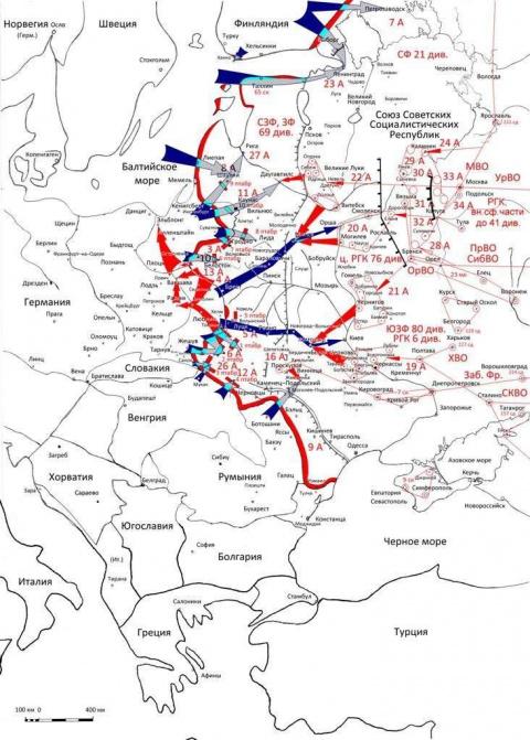 Кампания 1941 года: планы ст…