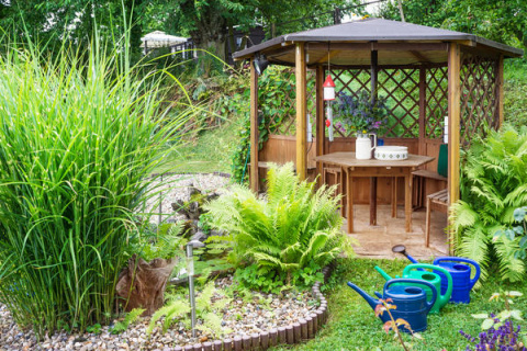 Красивый сад без лишних трат