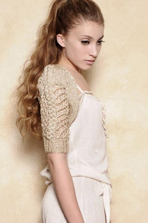 Вязаный подиум - модели Agostina Bianchi (Агостина Бьянчи)