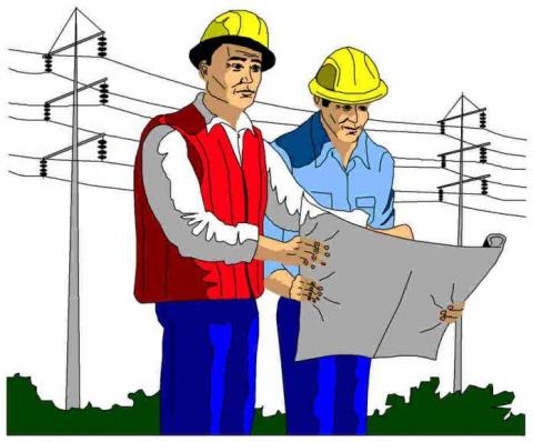 Два инженера стояли у поднож…