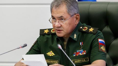 Шойгу сообщил о грядущем завершении операции в Сирии