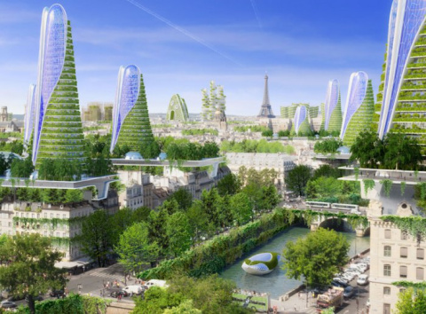 Умные башни в центре Парижа