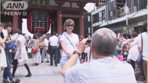 Туристы в Японии снова бьют рекорды