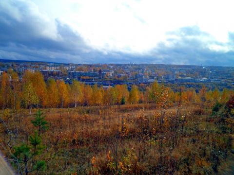 Вид на город с Володарки