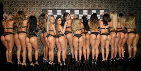 Бразильский конкурс Miss Bumbum