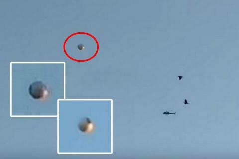 Над Лос-Анджелесом сняли на видео сферический НЛО