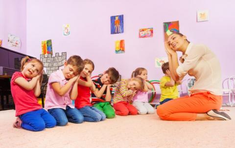 В детском саду у нас была гениальная воспитательница…