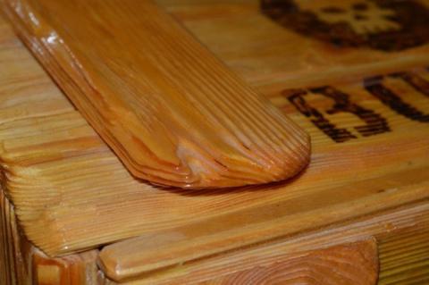 Это самый красивый деревянный ремонт который я когда нибудь видел!