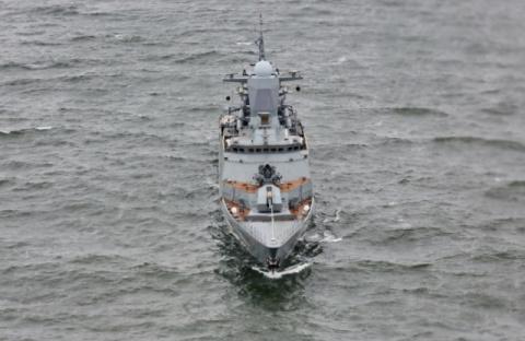 На Балтике впервые начались российско-китайские военно-морские учения