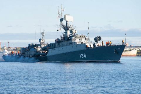 Корабли Северного флота нашл…