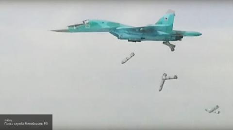 Российские ВКС ликвидировали более 120 террористов, направлявшихся в Пальмиру