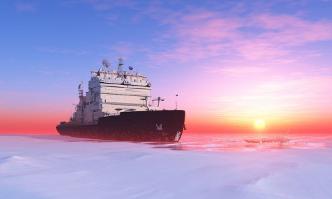 Боевые атомоходы России в Арктике