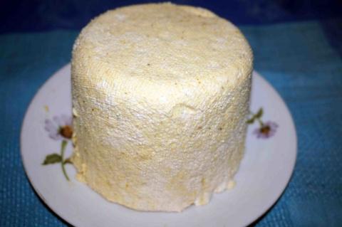Сыр домашний с яйцом