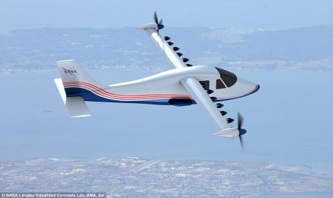 Молния! NASA рассекретило и одобрило к серийному выпуску самолёты на электродвигателях 1947 года.