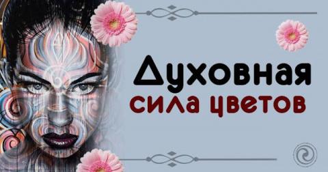 Духовная сила цветов