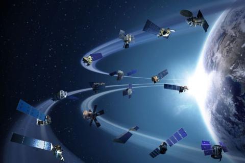 Космическую разведку территории России ведут 136 иностранных военных спутников