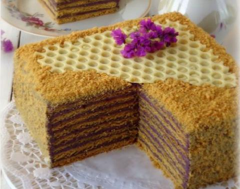 Торт «Кадриль» — необычное с…