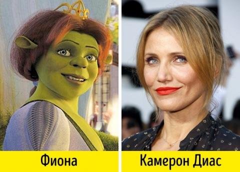 Эти 16 актеров удивительно похожи на персонажей, которых озвучивают