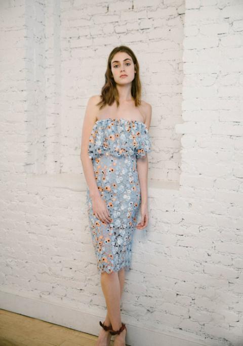 Нежная элегантность в коллекции платьев Katie Ermilio