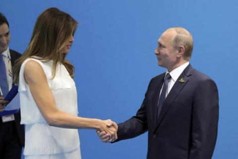 Тиллерсон рассказал о попытках Меланьи Трамп прервать встречу ее мужа с Путиным