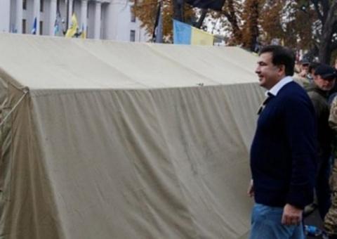Палатка №6: Саакашвили перес…