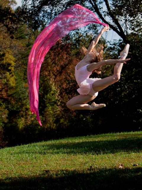 Почему люди не летают? Еще как летают! (фотографии Richard Calmes)