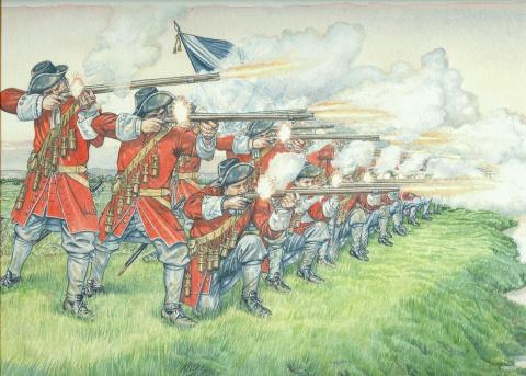 Время мушкетёров. Тактика европейских армий XVII века