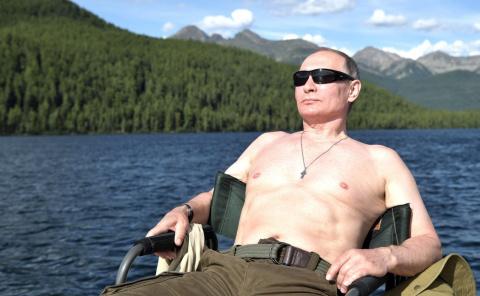Путин - воин Христов