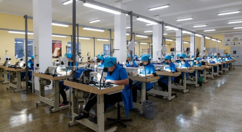 В Суксуне Пермского края открылось производство защитной спецодежды