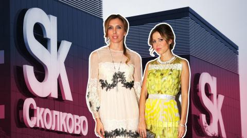 Светлана Бондарчук и Полина …
