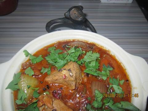 Тигадена - Африканское блюдо…