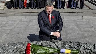 """Порошенко на 9 мая унизили в лицо: """"Ты преступник и власть твоя бандитская"""""""