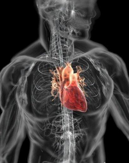 Сердце... Методика не доказана, но многим помогает..