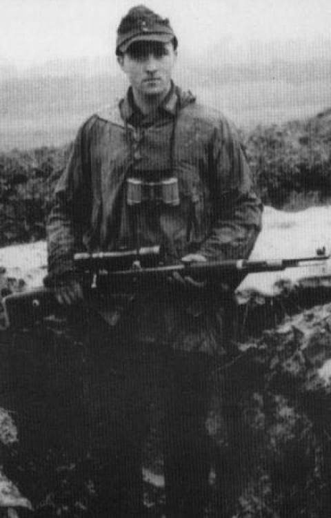 Снайпер Вермахта Суткус, про…