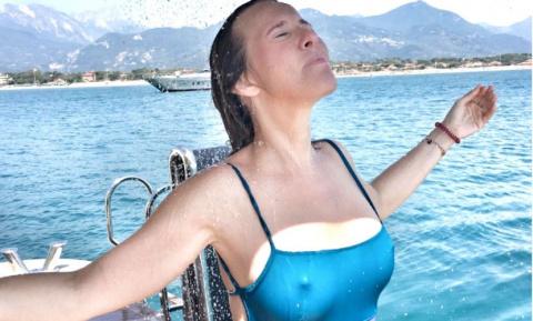 Ксения Собчак раскрыла тайну своей беременности эротическим фото