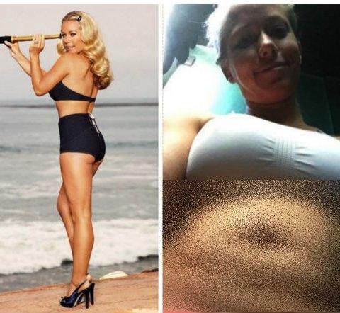 Экс- звезда «Плейбоя» честно показала, что с ней сделали 2 беременности. Зрелище на любителя, если честно...